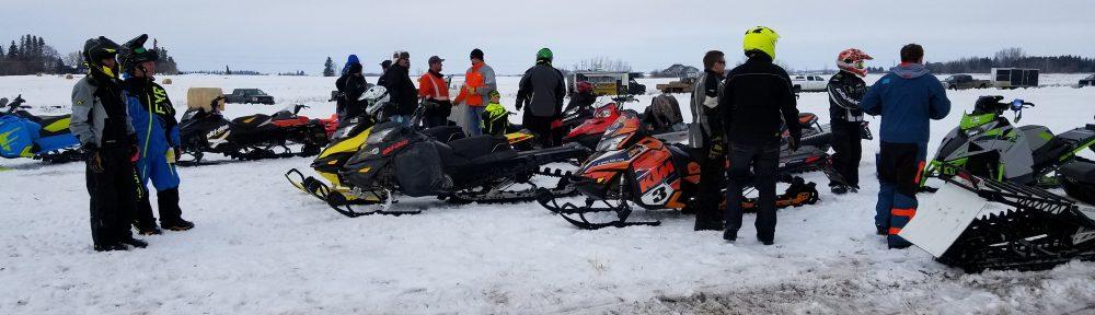 March 24, 2018 Snow Drag Race | Vegreville Speedway